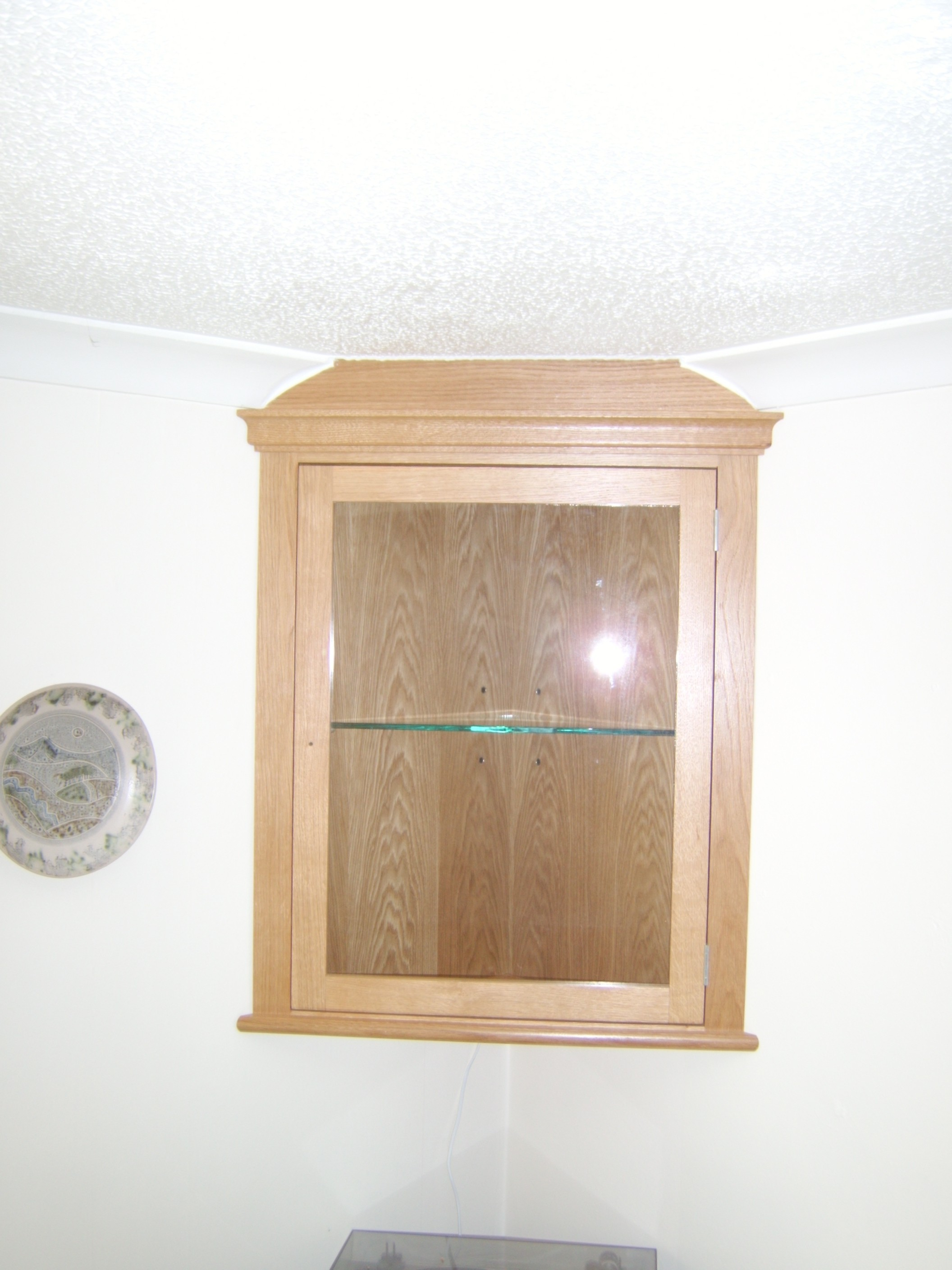 Small Corner Cupboard
